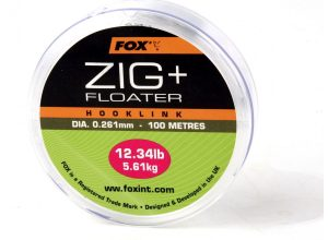 Fox Edges Zig & Floater Hooklink Clear x100m