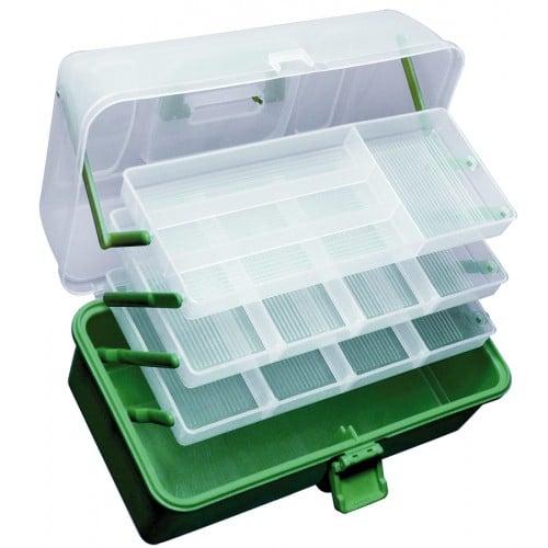 Praktické plastové kufríky Carp Zoom