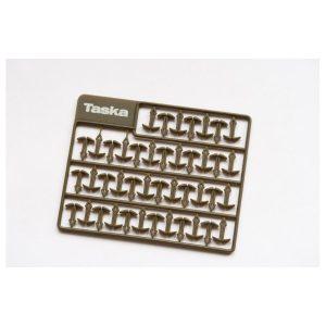 TASKA Predĺžené vlasové zarážky long 9,5mm