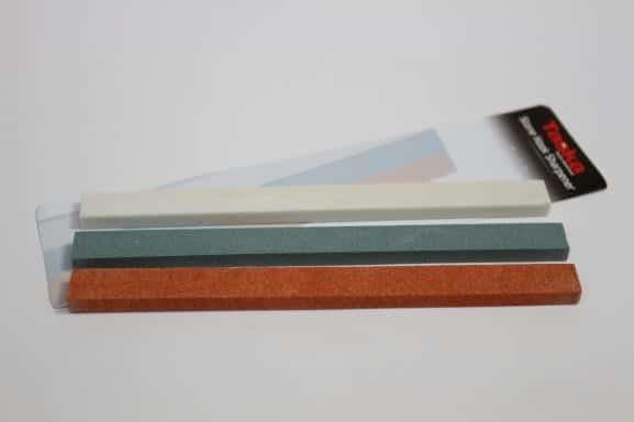 Taska brusky na háčiky - Kamenný set 3ks