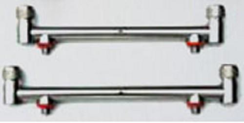 TASKA Nerezové hrazdy s duo šrobovaním 18&20cm