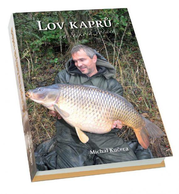 Kniha lov kaprov v Českých vodách