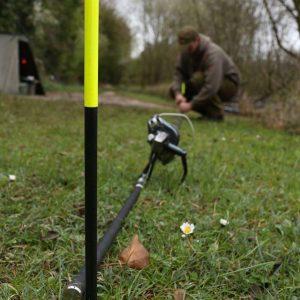 Spot na tyčinky powerbore - zavŕtavacie tyčky na odmeranie vzdialenosti presnému nahadzovaní