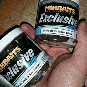 MIKBIATS EXCLUSIVE SALTY (boilies v morskej soli)