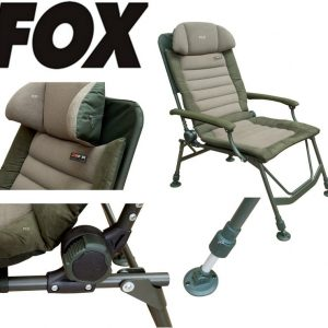 KRESLO FOX FX SUPER DELUXE RECLINER CHAIR