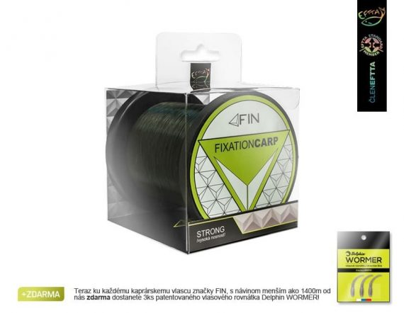 FIN Fixation CARP STRONG/tmavá oliva