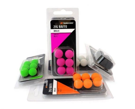 Nástraha - Zig-Balls 14 mm / 6 ks