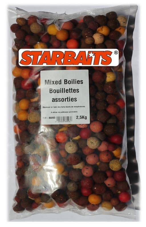 Boilies STARBAITS zmes 2,5kg