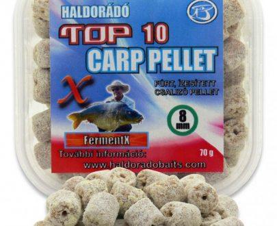 Haldorádó TOP 10 Carp Pellet - FermentX 70 g