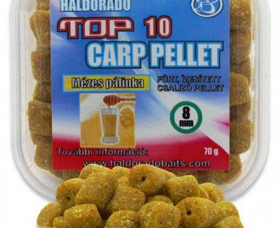 Haldorádó TOP 10 Carp Pellet - Medová Pálenka 70 g