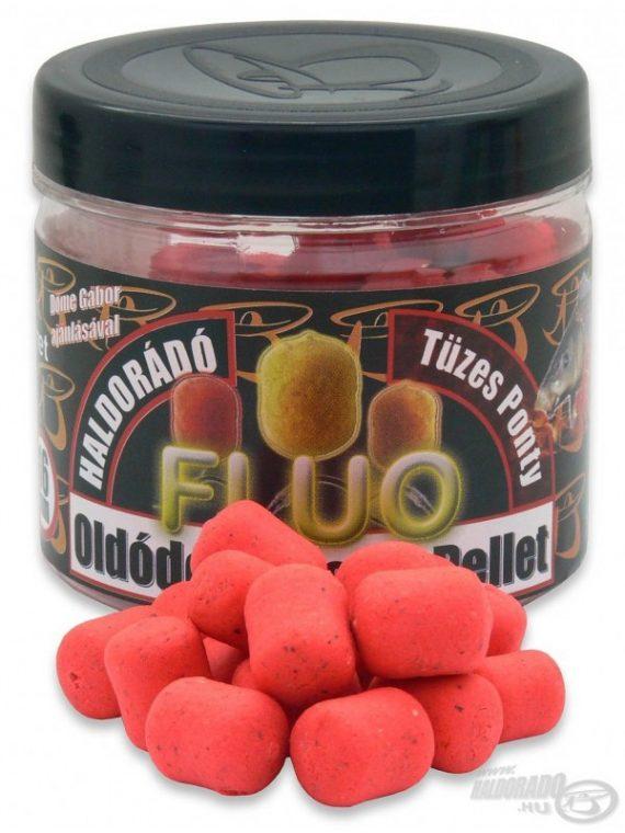 Haldorádó Rozpustné Fluo Pelety - Kapor Ohnivý 70 g