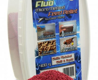 HALDORÁDÓ FLUO MICRO METHOD FEED PELLET - CHILIS TINTAHAL / CHILI SQUID