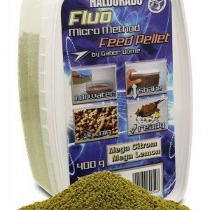 HALDORÁDÓ FLUO MICRO METHOD FEED PELLET - MEGA CITROM / MEGA LEMON