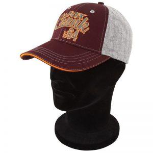 Šiltovka FOX Chunk Grey/Burgundy/Orange Baseball Cap