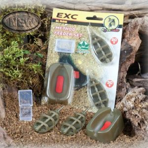 Extra carp Method Feeder Set 2+1