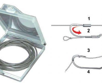 Extra carp Silikon bužírka na boilisový vlas 0,7 mm - 1m