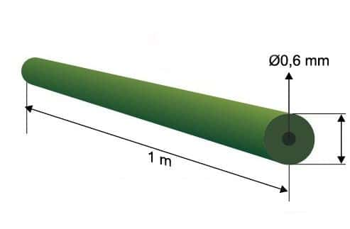 Extra carp Tungsten Tube Extra Carp 1m