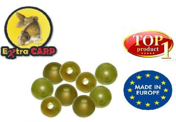 Extra carp Rubber Beads 4mm