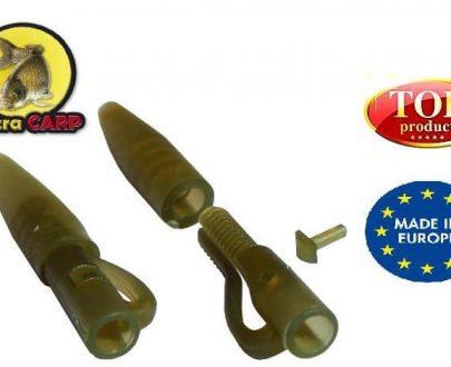 Extra carp Lead clip with Tail Rubber Extra Carp - 10ks