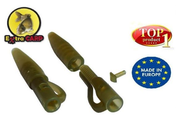 Extra carp Lead clip with Tail Rubber Extra Carp - 10ks