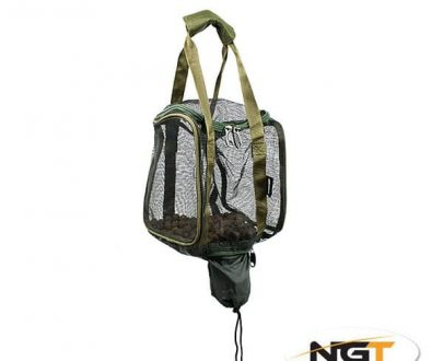 NGT Boilie Taška Square Boilie with Hook Bait Pouch