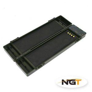 NGT BOX Na Náväzce Multi Board Stiff Rig Wallet