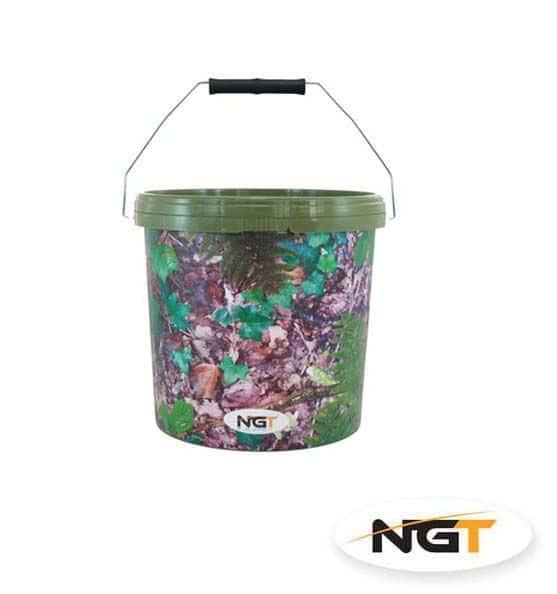 NGT Vedro Medium Camo Bucket 10L
