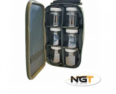 NGT 6 Pot Green Glug Bag