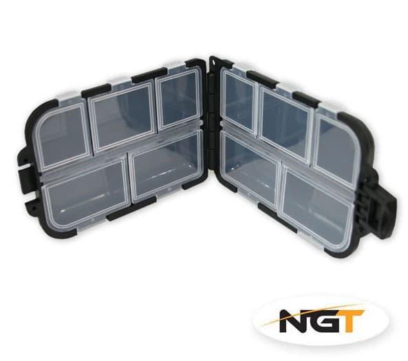 NGT Tackle Anglers Black Mini Bit Box 405