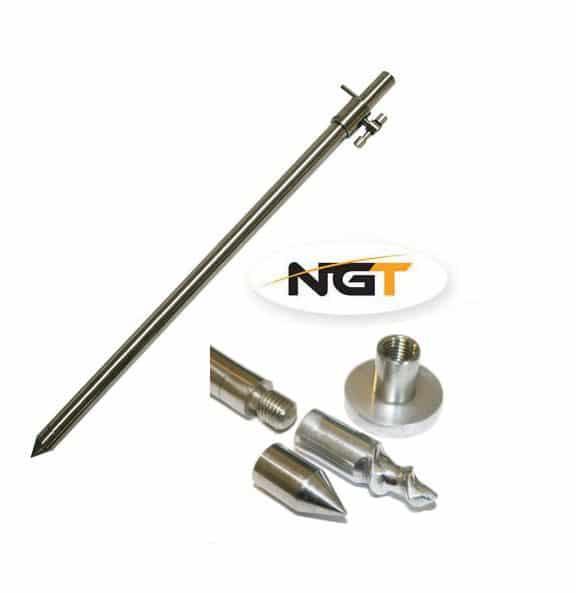 NGT Vidlička Adaptable Bank Stick 3v1 30-50cm