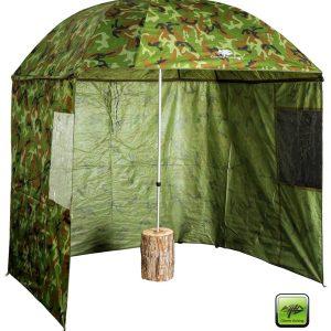 Dáždnik Square Camo Umbrella 250cm