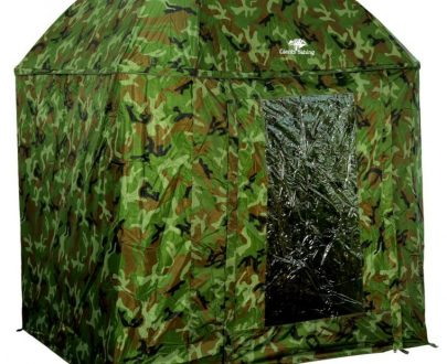 Dáždnik Full Cover Square Camo Umbrella 250cm