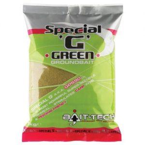 Krmítková zmes Groundbaits Special-G Green 1kg