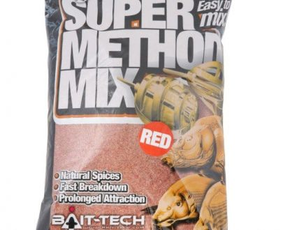 Krmítková zmes Super Method Mix Red 2kg