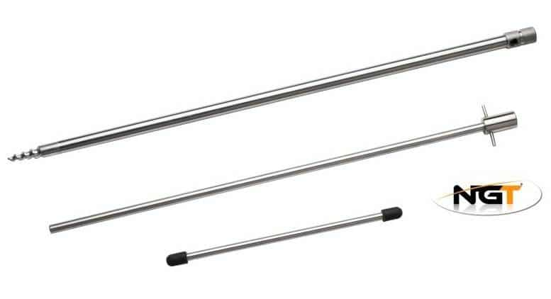 NGT STAINLESS STEEL BANK STICK DELUXE WITH DRILL