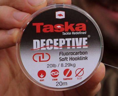 TASKA Deceptive - Fluocarbon na návazce extra odolný 20m