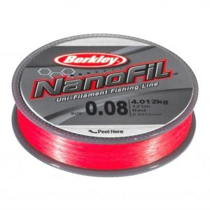 Berkley Nanofil 125m RED