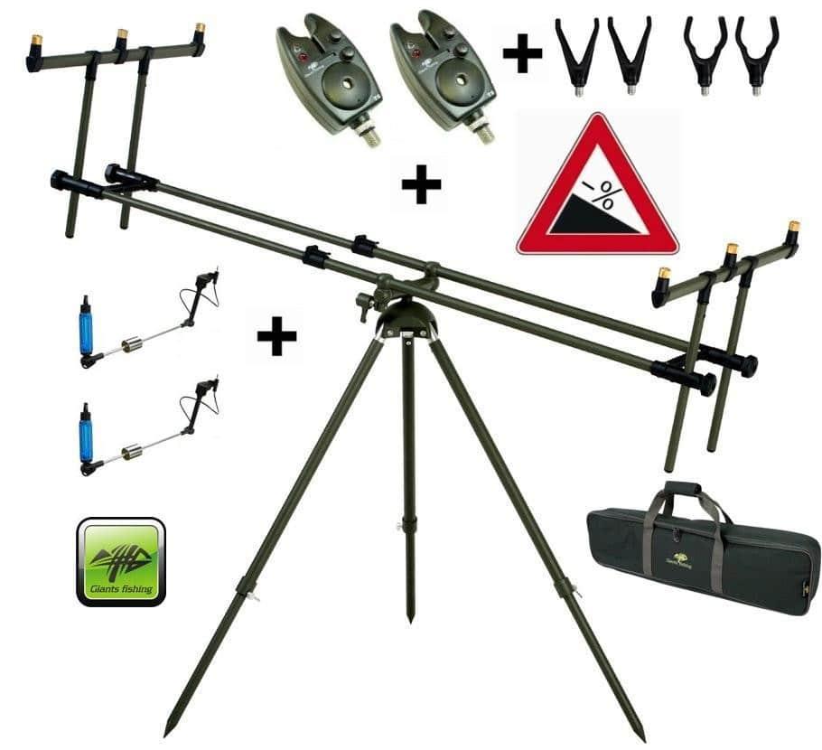 Stojan Tri Pod Specialist 3 Rods +2x hlásič + 2x indikátor záberu zdarma