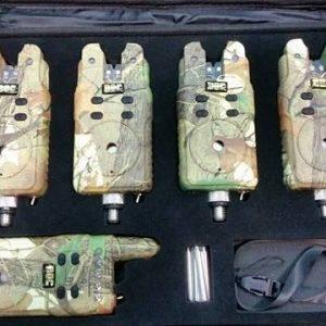 Sada signalizátorov s príposluchom DOC RF 3+1 maskac