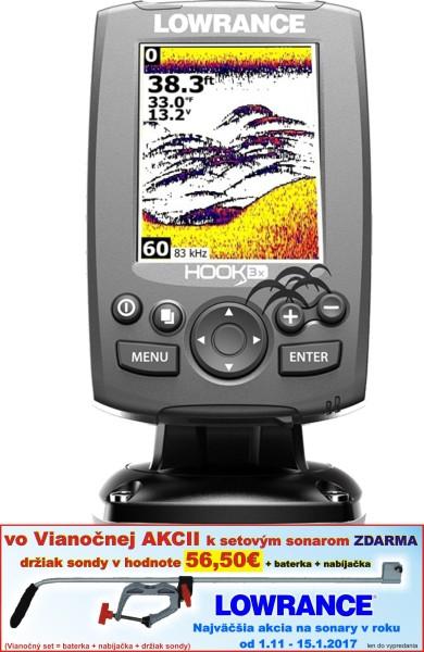 Sonar Hook-3x Sonar 83/200 EMEA - Language Pack