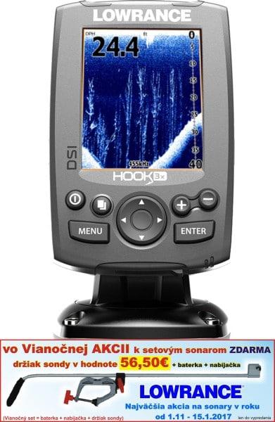 Sonar Hook-3x DSI sonar so sondou 455/800kHz
