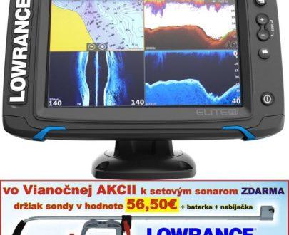 Dotykový sonar Elite-7 Ti so sondou Chirp/DSI