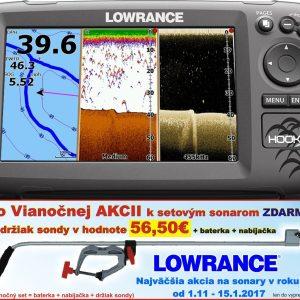 Sonar s GPS Hook-7 Chirp so sondou