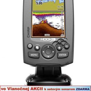 Sonar s GPS Hook-4 Chirp so sondou
