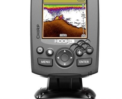 Sonar s GPS Hook-4 Chirp so sondou
