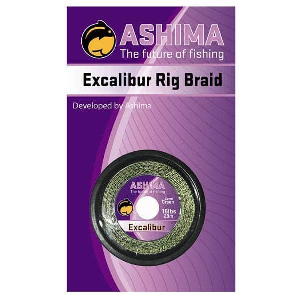 Excalibur 15lb hnědá 20m