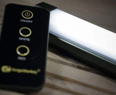 RidgeMonkey Svetlo bivvy Lite Duo IR s diaľkovým ovládačom