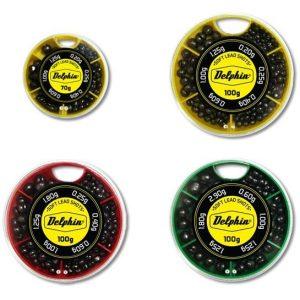 Vyvažovacie olovká DELPHIN SOFT (žltá krabička) 70g/0,2-1,25g