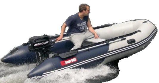 A 380 - nafukovací čln boat007
