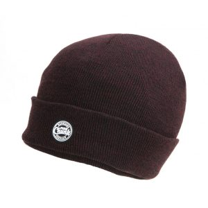 Fox Chunk Burgundy/Black Marl Beanie